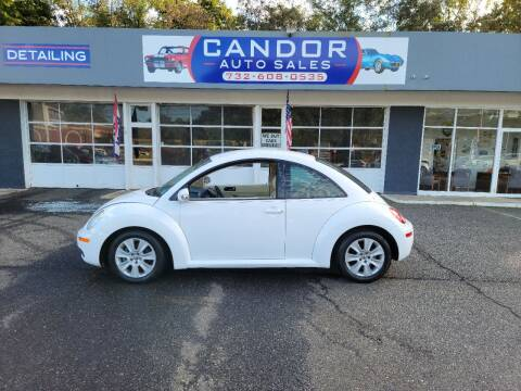2010 Volkswagen New Beetle for sale at CANDOR INC in Toms River NJ
