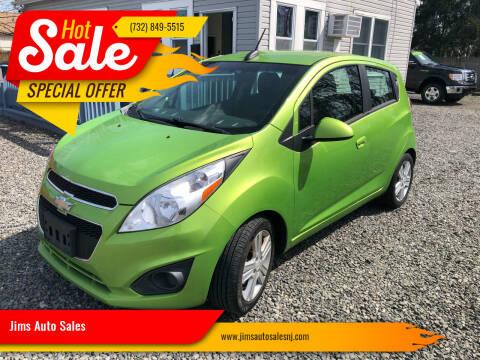2015 Chevrolet Spark for sale at Jims Auto Sales in Lakehurst NJ