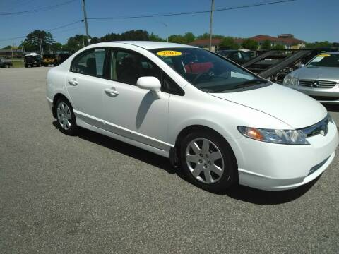 2007 Honda Civic for sale at Kelly & Kelly Supermarket of Cars in Fayetteville NC