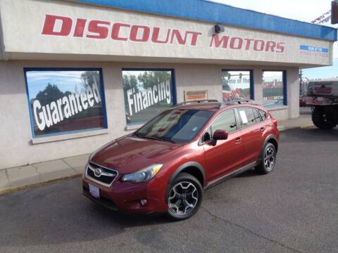 2014 Subaru XV Crosstrek for sale at Discount Motors in Pueblo CO