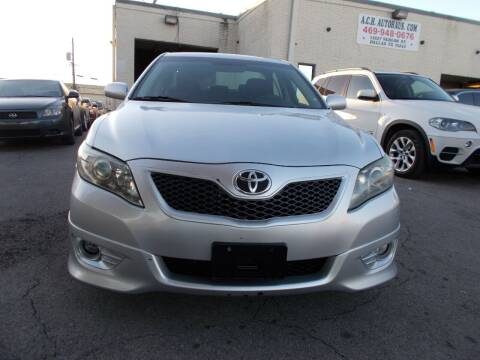2011 Toyota Camry for sale at ACH AutoHaus in Dallas TX