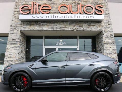 2020 Lamborghini Urus for sale at Elite Autos LLC in Jonesboro AR
