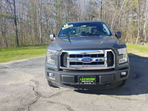 2016 Ford F-150 for sale at L & R Motors in Greene ME