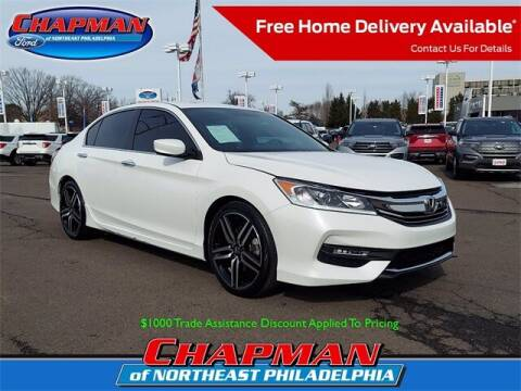 2017 Honda Accord for sale at CHAPMAN FORD NORTHEAST PHILADELPHIA in Philadelphia PA