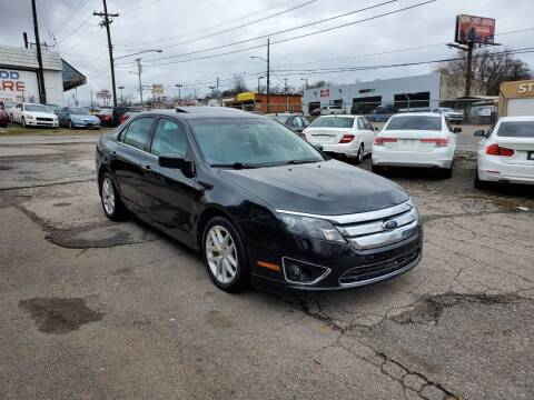 2012 Ford Fusion for sale at Green Ride Inc in Nashville TN