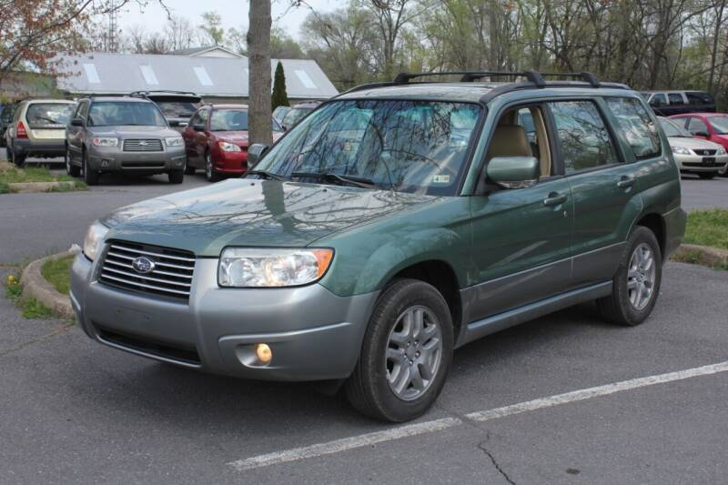 2007 Subaru Forester for sale at Auto Bahn Motors in Winchester VA