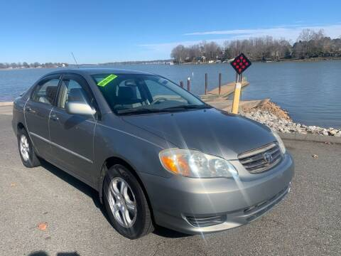 2004 Toyota Corolla for sale at Affordable Autos at the Lake in Denver NC