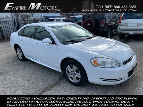 2010 Chevrolet Impala for sale at Empire Motors LTD in Cleveland OH