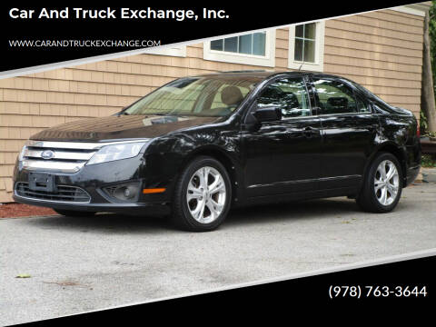 2012 Ford Fusion for sale at Car and Truck Exchange, Inc. in Rowley MA