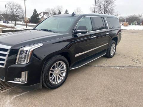 2016 Cadillac Escalade ESV for sale at Used Car Factory Sales & Service Troy in Troy OH