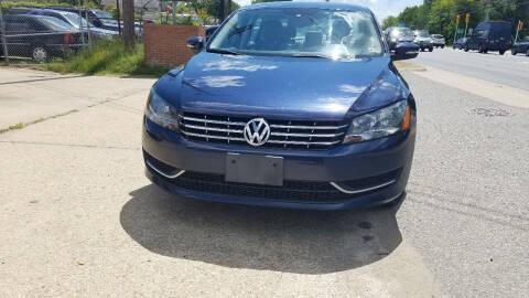 2013 Volkswagen Passat for sale at PRESTIGE MOTORS in Fredericksburg VA