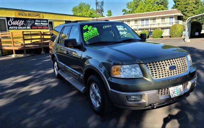2004 Ford Expedition for sale at SWIFT AUTO SALES INC in Salem OR