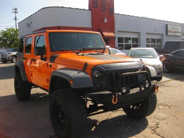 2013 Jeep Wrangler Unlimited for sale at Best Buy Wheels in Virginia Beach VA