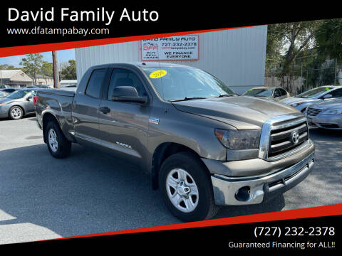 2010 Toyota Tundra for sale at David Family Auto in New Port Richey FL
