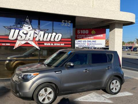 2016 Kia Soul for sale at USA Auto Inc in Mesa AZ
