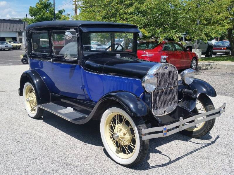 1929 Ford Model T for sale at Black Tie Classics in Stratford NJ