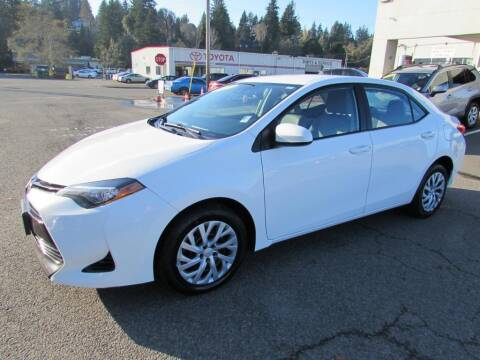 2017 Toyota Corolla for sale at 101 Budget Auto Sales in Coos Bay OR