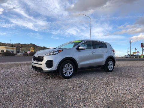 2019 Kia Sportage for sale at 1st Quality Motors LLC in Gallup NM