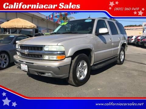 2004 Chevrolet Tahoe for sale at Californiacar Sales in Santa Maria CA