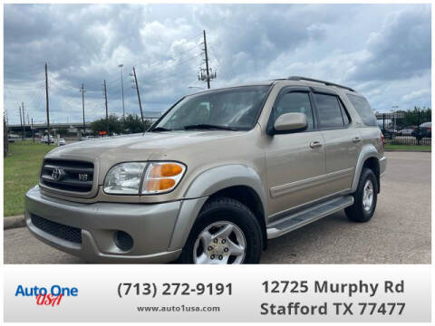 2002 Toyota Sequoia for sale at Auto One USA in Stafford TX