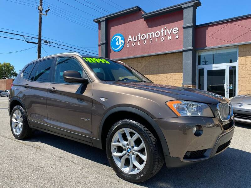 2011 BMW X3 for sale at Automotive Solutions in Louisville KY