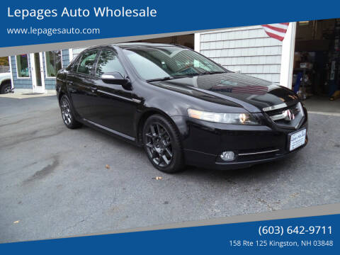 2008 Acura TL for sale at Lepages Auto Wholesale in Kingston NH