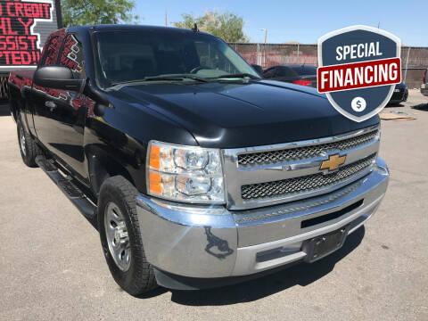 2012 Chevrolet Silverado 1500 for sale at Rock Star Auto Sales in Las Vegas NV