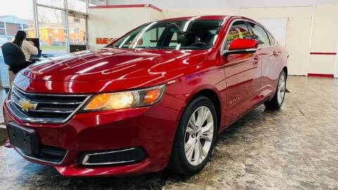 2014 Chevrolet Impala for sale at TOP YIN MOTORS in Mount Prospect IL