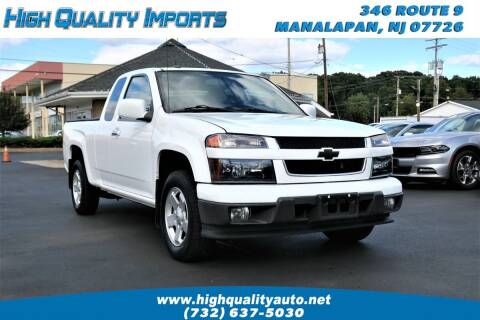 2010 Chevrolet Colorado for sale at High Quality Imports in Manalapan NJ