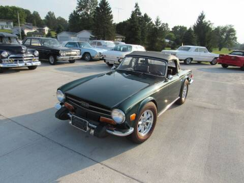 1974 Triumph TR6 for sale at Whitmore Motors in Ashland OH