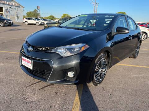 2016 Toyota Corolla for sale at De Anda Auto Sales in South Sioux City NE