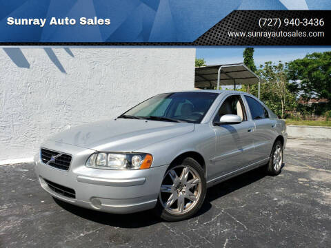 2006 Volvo S60 for sale at Sunray Auto Sales Inc. in Holiday FL