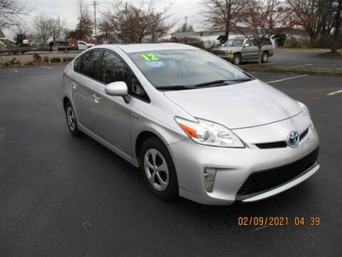 2012 Toyota Prius for sale at Euro Asian Cars in Knoxville TN