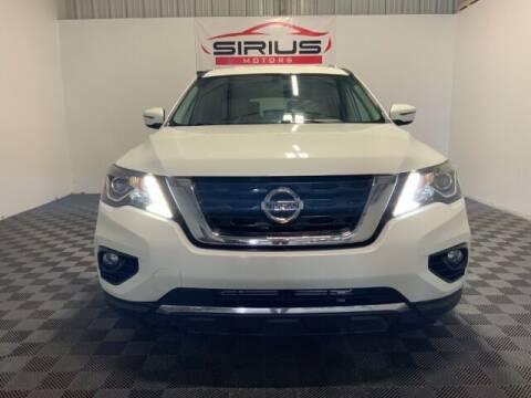 2017 Nissan Pathfinder for sale at SIRIUS MOTORS INC in Monroe OH