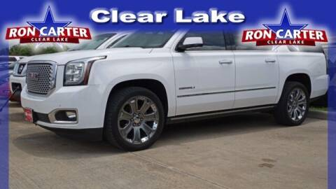 2016 GMC Yukon XL for sale at Ron Carter  Clear Lake Used Cars in Houston TX