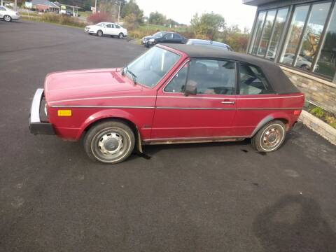1982 Volkswagen Rabbit for sale at eurO-K in Benton ME