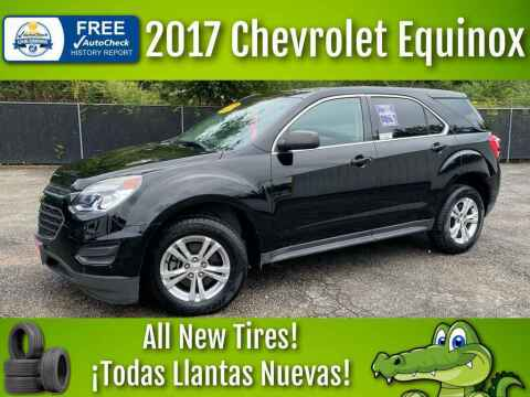 2017 Chevrolet Equinox for sale at LIQUIDATORS in Houston TX