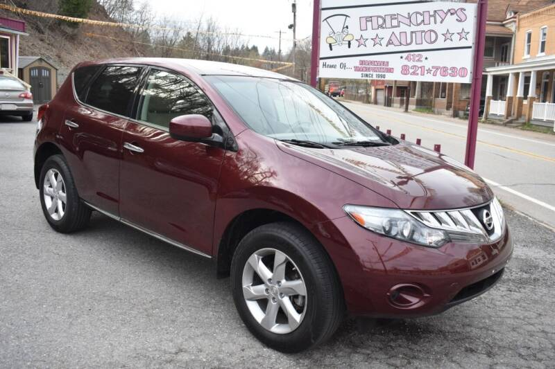 2010 Nissan Murano for sale at Frenchy's Auto LLC. in Pittsburgh PA
