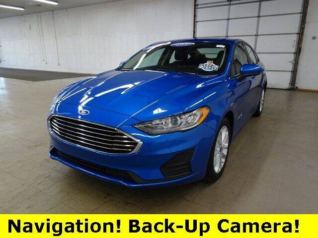 2019 Ford Fusion Hybrid for sale in Auburn, IN