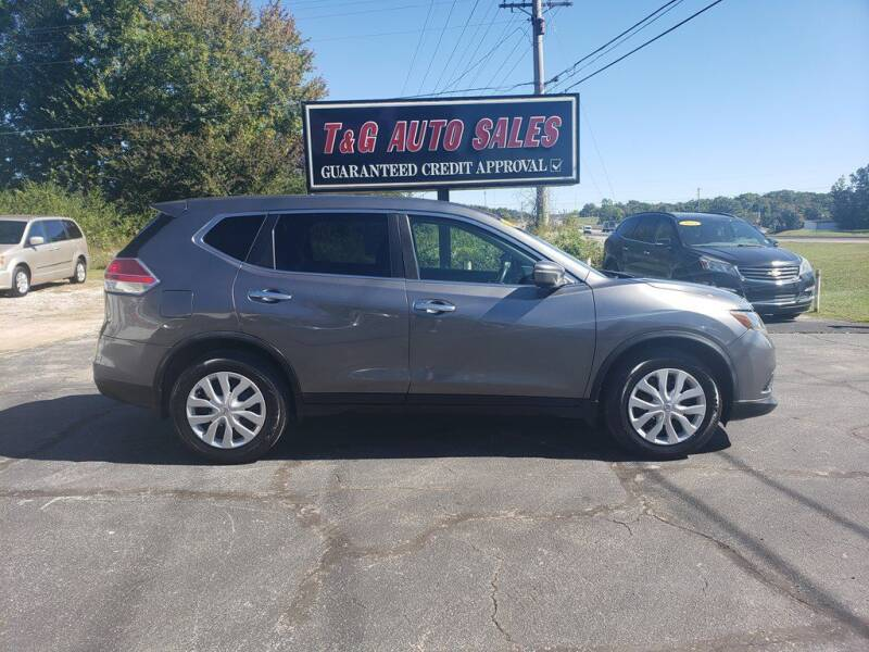 2015 Nissan Rogue for sale at T & G Auto Sales in Florence AL