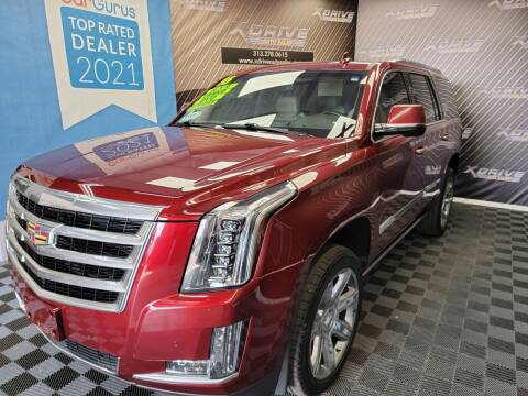 2016 Cadillac Escalade for sale at X Drive Auto Sales Inc. in Dearborn Heights MI