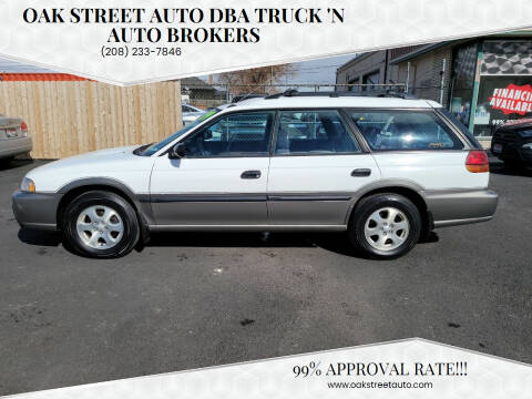 1999 Subaru Legacy for sale at Oak Street Auto DBA Truck 'N Auto Brokers in Pocatello ID