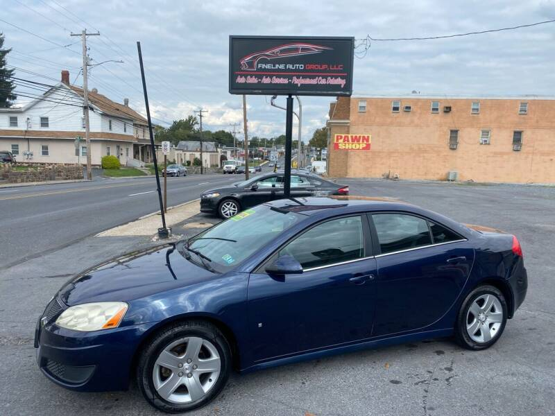 2010 Pontiac G6 for sale at Fineline Auto Group LLC in Harrisburg PA