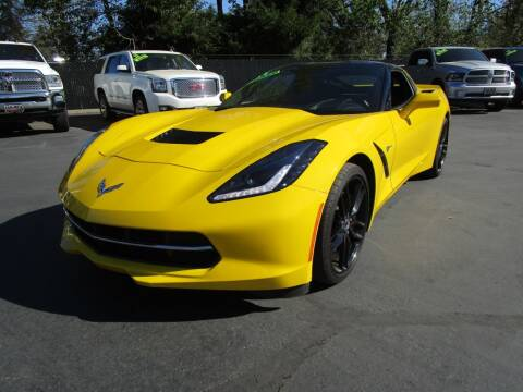 2014 Chevrolet Corvette for sale at LULAY'S CAR CONNECTION in Salem OR