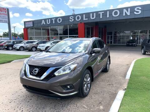 2015 Nissan Murano for sale at Auto Solutions in Warr Acres OK