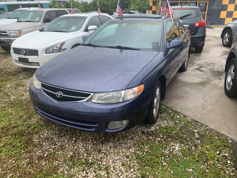 2000 Toyota Camry Solara for sale at Dulux Auto Sales Inc & Car Rental in Hollywood FL