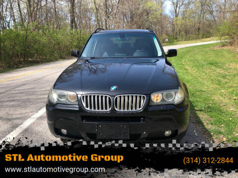 2007 BMW X3 for sale at STL Automotive Group in O'Fallon MO