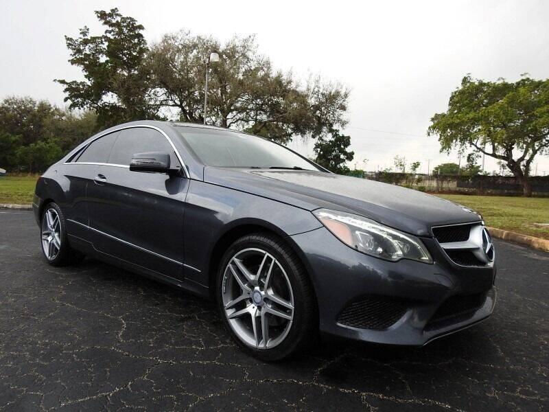 2014 Mercedes-Benz E-Class for sale at SUPER DEAL MOTORS 441 in Hollywood FL