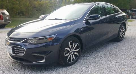 2017 Chevrolet Malibu for sale at Victory Auto Sales LLC in Mooreville MS