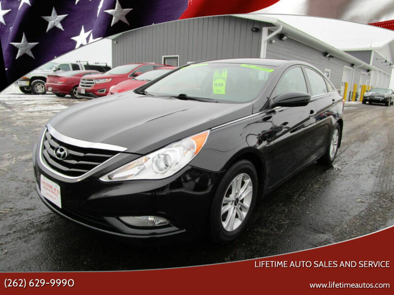 2013 Hyundai Sonata for sale at Lifetime Auto Sales and Service in West Bend WI